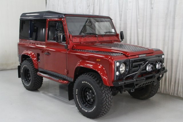 pre-owned 1989 land rover defender 90 in des moines #nx0252 | willis